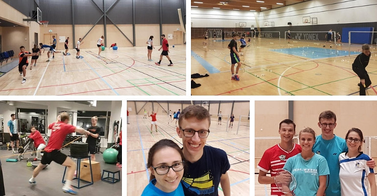 Stypendium Badminton Europe Centre of Excellence