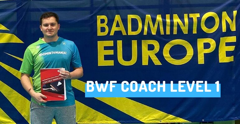 Dominik trenerem BWF Coach level 1